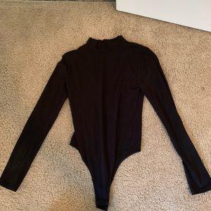 Other - Black Turtleneck Bodysuit